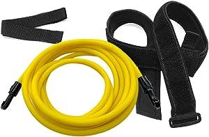 Kenoucle Swim Training Belts Swim Bungee Cords Resistance Bands Swim Tether Stationary Swimming, Swim Harness Static Swimming Belt
