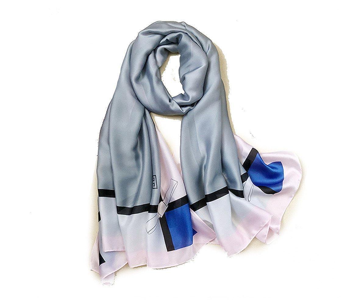 shanshan Pañuelo protector solar delgada toalla de playa multi-función párrafo largo chal fiesta de lujo magnífico vestido de noche femenina bufanda gasa ...