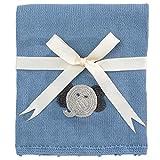 Elegant Baby Elephant Crochet Blanket