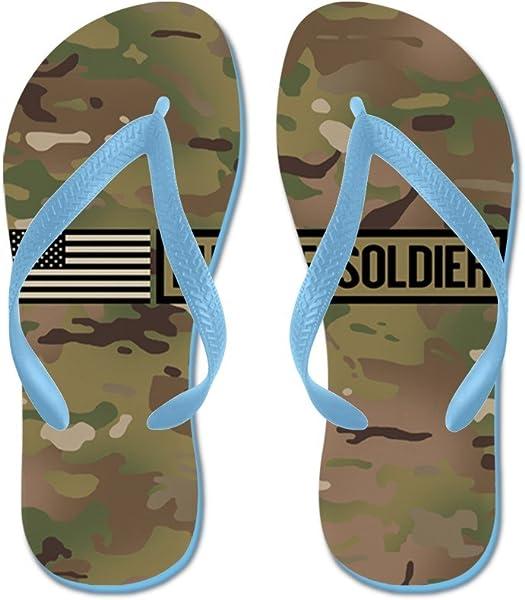 fd973323ba64aa CafePress - U.S. Army  Future Soldier (Camo) - Flip Flops