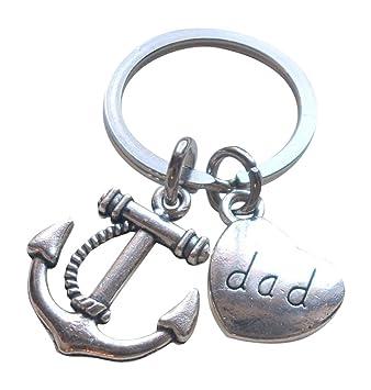 Dad s ancla llavero - eres el ancla en mi vida; Padre de ...