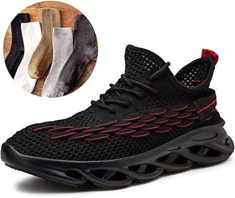 LZLHYH Zapatillas De Deporte Ligeras para Hombres Zapatillas De Deporte Transpirables con Cordones A Prueba De Golpes Aumento De Altura para Caminar Zapatillas De Gimnasia Hombre: Amazon.es: Deportes y aire libre