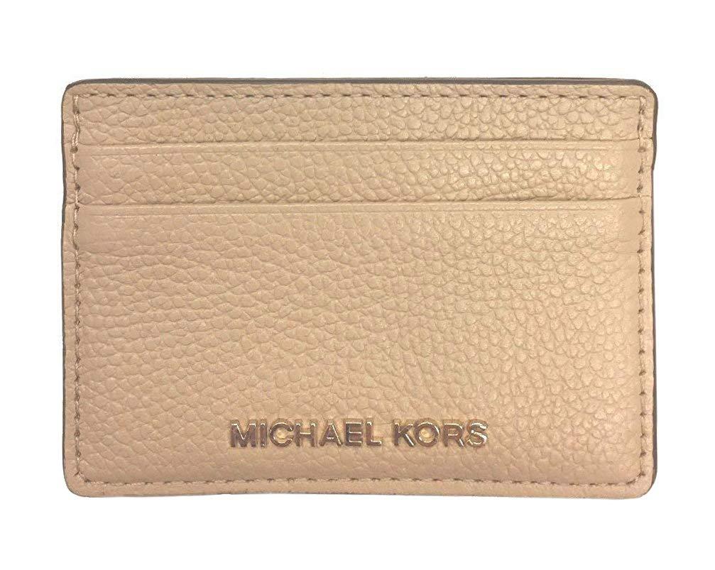 MICHAEL Michael Kors Money Pieces Pebble Leather Card Holder