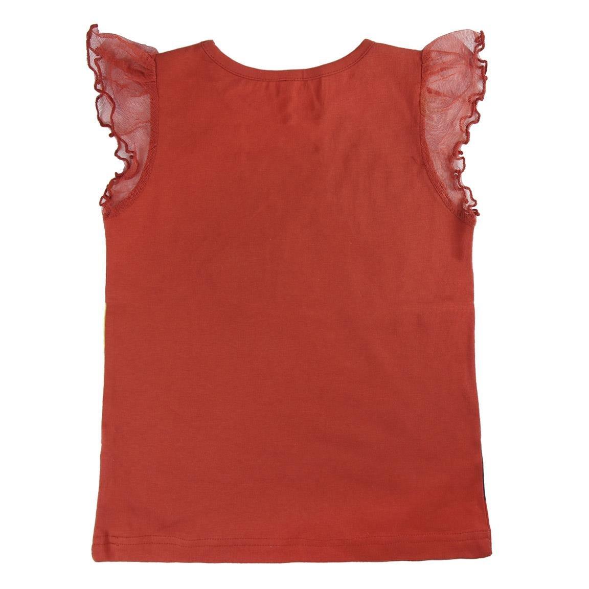 DC Comics Wonder Woman 2200002639 T-Shirt Cotone Maglia Paillettes 4 Anni Super Hero Girls