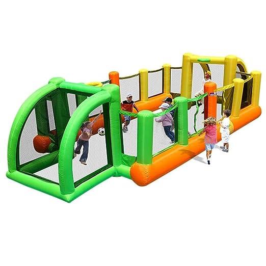 Castillos hinchables for niños Campo de fútbol for niños trampolín ...