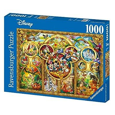 Ravensburger Disney Best Themes Jigsaw Puzzle (1000 Piece): Toys & Games