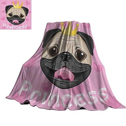 Amazon.com: Teen Girls Decor Collection Warm Blanket Happy ...
