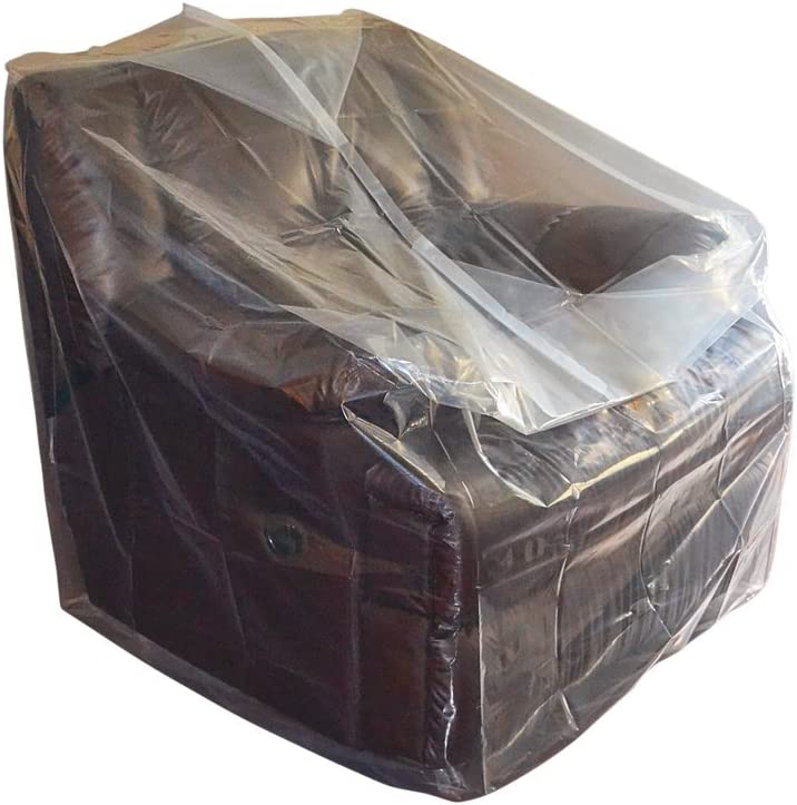 CRESNEL Furniture Cover Plastic Bag for Moving Protection and Long Term Storage Chair