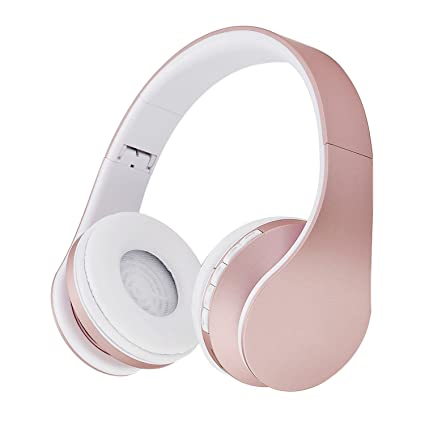 61dd18ba724 Amazon.com: Wireless Digital Stereo Bluetooth Headset Card MP3 player  Earphone FM Radio Music,Pink,China: Computers & Accessories