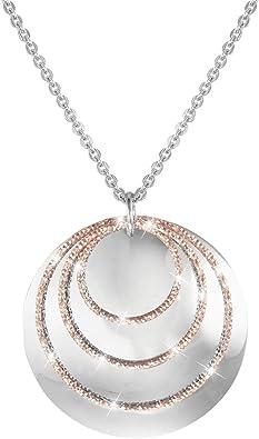 collier femme avec un cercle