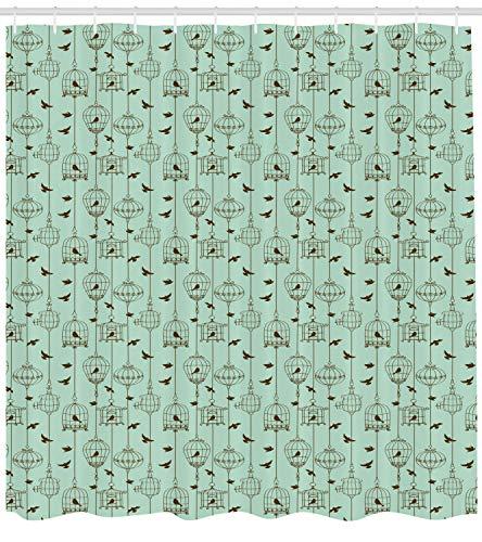 Vintage Shower Curtain 48
