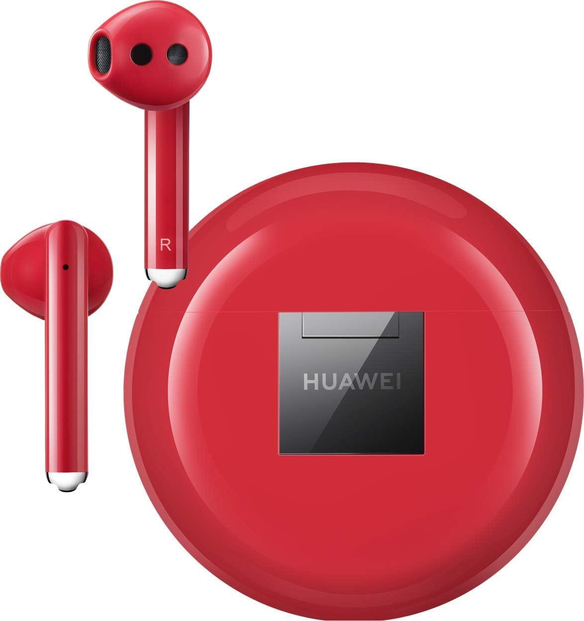 HUAWEI FreeBuds 3 kabellose Kopfh/örer mit Active Noise Canceling + 5EUR  Gutschein Ultra schnelle Bluetooth-Verbindung, 14mm Lautsprecher Schwarz Band 4 wasserdichter Bluetooth Fitness