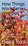 how do leaves change color - How Things Work Series. Why Do Leaves Change Color?: What Makes Those Amazing Fall Colors?
