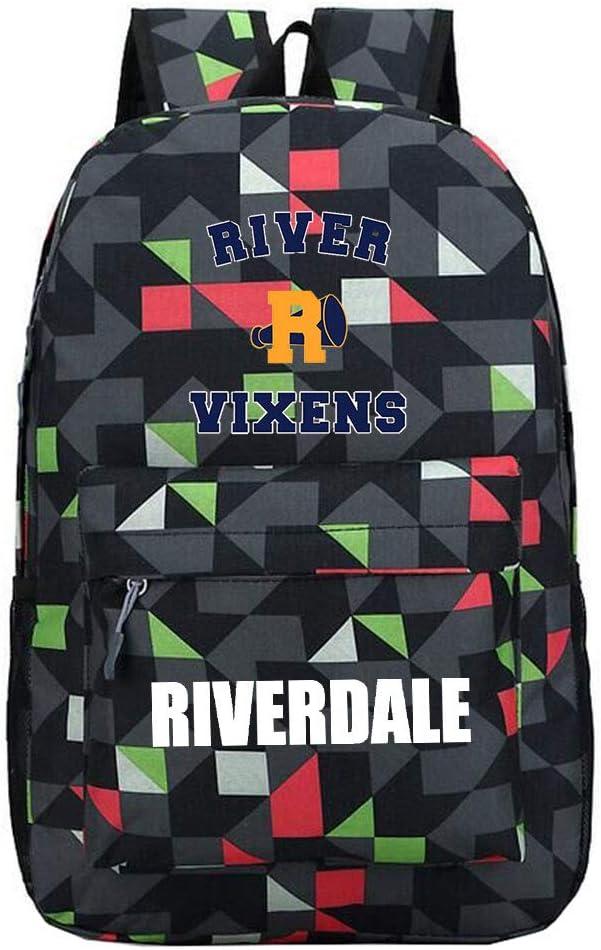 Riverdale - Mochila de Deporte Unisex Black18 30 X 13 X 43cm: Amazon.es: Equipaje