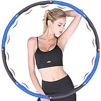 HiroShi hula-ögla, används för viktminskning och massage, kan delas upp i 6-8 delar, 75-95 cm i diameter, fitnesshula…