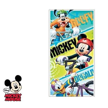 Disney Mickey Mouse, Goofy, Donald Toalla – Toalla & Toalla de Playa (140
