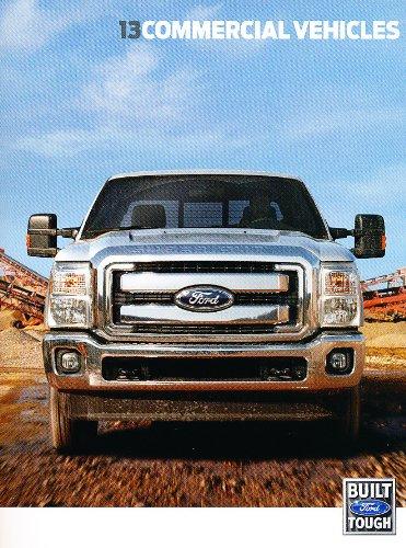 2013 Ford Commercial Truck Line Original Sales Brochure - F-150 F-250 F-350 Commercial Brochure