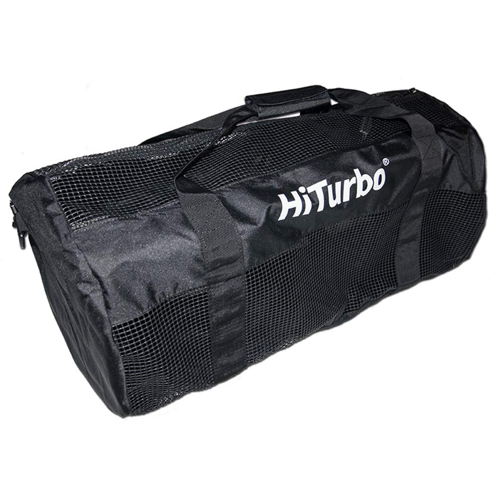 Hiturbo Mesh Duffel Bag-Dive Travel Duffle Bags for Scuba Diving and Snorkeling Beach Gear & Equipment by Hiturbo