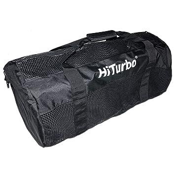 Amazon.com: Hiturbo Mesh Duffel Bag-Dive Travel Duffle Bags ...