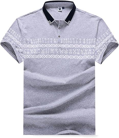 Gladiolus Polo para Hombre Camiseta/Camisa Deportiva con Manga Corta con Cuello de Polo XXL/3XL/4XL/5XL/6XL/7XL: Amazon.es: Deportes y aire libre