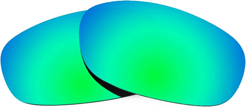 Revant Verres de Rechange pour Wiley X Zen - Compatibles avec les Lunettes de Soleil Wiley X Zen Vert Émeraude Mirrorshield - Polarisés