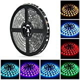 16.4ft LED light strip, Nexlux Waterproof 5050 SMD RGB LED Flexible Strip ...