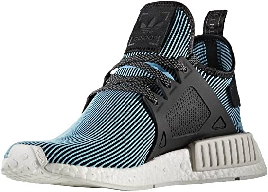 Pilar rural Tremendo  Amazon.com | adidas Originals Men's NMD Xr1 Pk Primeknit Trainers Cyan |  Track & Field & Cross Country
