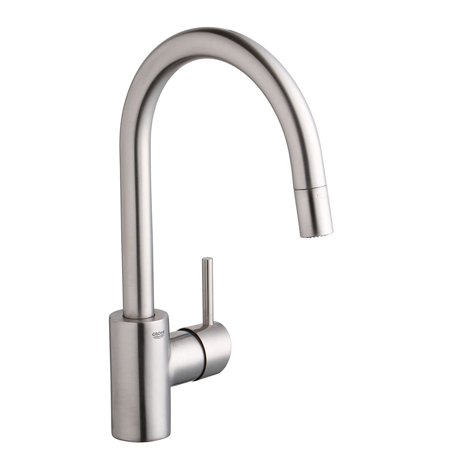 Grohe 32 665 DC0 Concetto Dual Spray Pull Out Kitchen Faucet