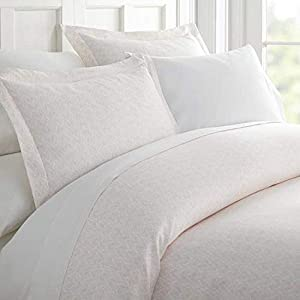 Linen Market iEnjoy Home Hotel Collection Premium Ultra Soft Classic in Pink Pattern 3 Piece Duvet Cover Bed Sheet Set, Twin/Twin Extra Long