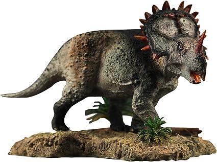 Nanmu 1//35 Sinoceratops Figure Ceratops Dinosaur Model Collector Toys Kid Gift