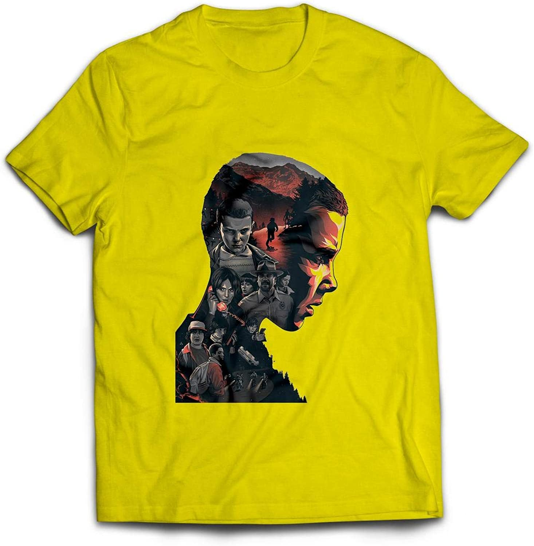 LABSALE Camiseta Amarilla BASADA EN Stranger Things 011 Eleven 01: Amazon.es: Ropa y accesorios