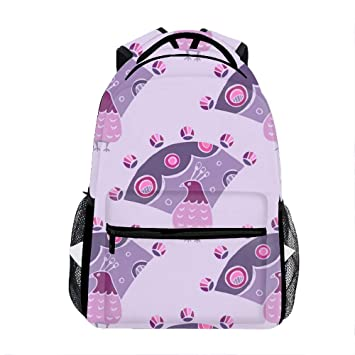 8cddcadd3ddc Amazon.com: Fabulous Bird Backpack for Kids School Laptop Backpack ...