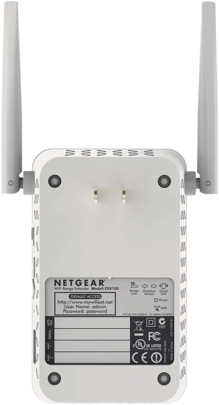 Netgear EX6150-100PES AC1200 Dual-Band Universal WLAN: Amazon.de ...