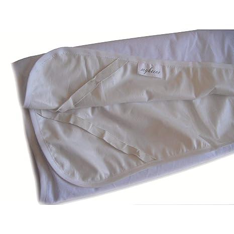 Mybeene – Funda protectora de colchón impermeable, con 4 gomas en las