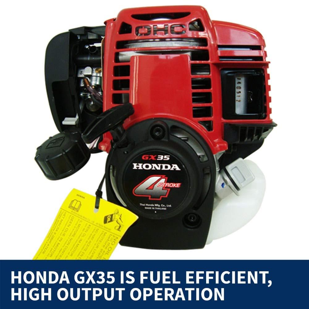 CHIKURA GX35 mochila de gasolina 4 tiempos pincel cortador ...