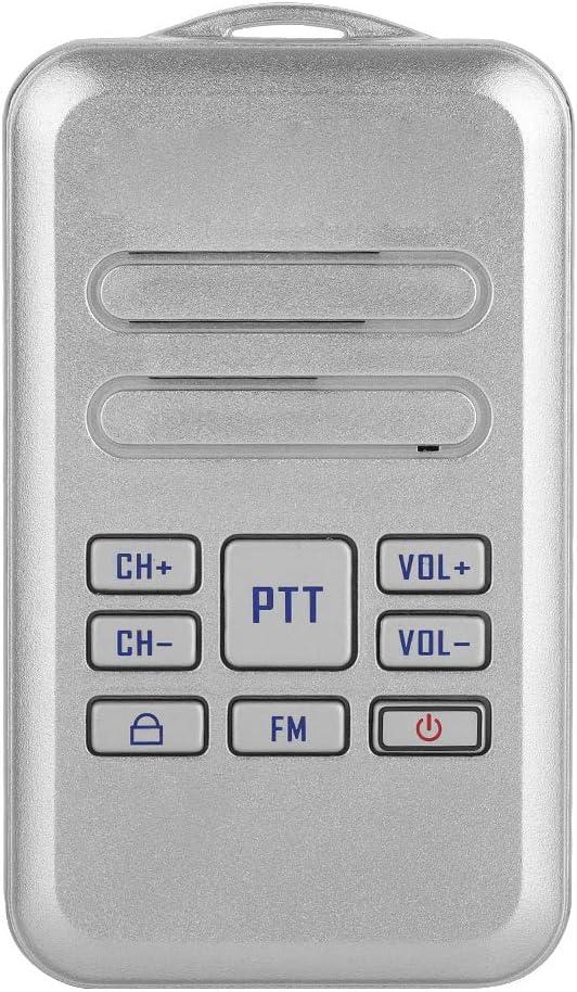 5*Mini Walkie Talkie Retevis RT20 16CH 2W//0.5W FM UHF:400-470MHz TWO-Way Radio