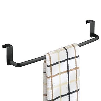 mDesign Geschirrtuchhalter Küchenschrank - Länge: 37 cm, Farbe ...