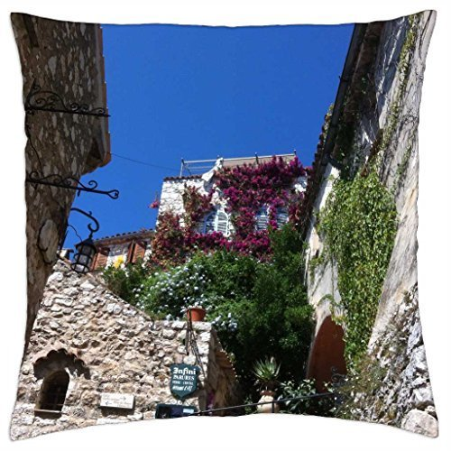 - Wonderful Eze Village - Throw Pillow Cover Case (16