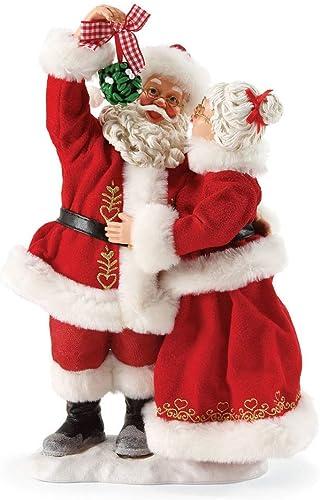 Department 56 Possible Dreams Santa Claus Mistletoe Kisses Clothtique Christmas Figurine
