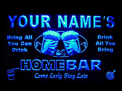 Personalized Neon Signs Beauteous Amazon Ptmb Name Personalized Custom Home Bar Beer Neon Light