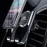 DesertWest 車載ホルダー スマホホルダー 携帯ホルダー エアコン吹き出し口取り付け 斬新なギア連動技術/片手操作可能/自由調節可能/360度回転可能/ 4-6.5インチ多機種対応 Android & iPhone カーホルダー