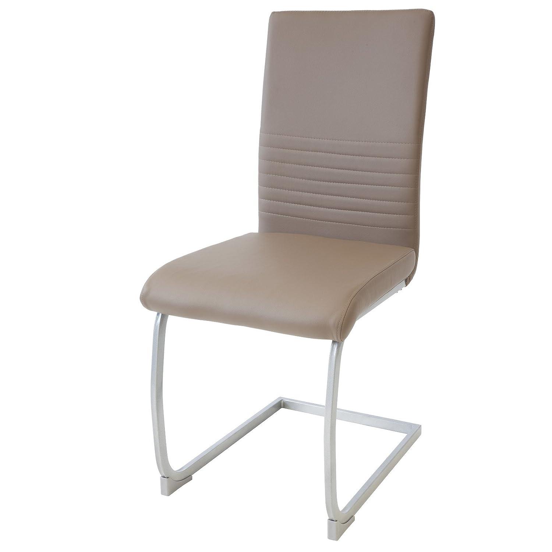 eleganti Albatros MURANO imbottite certificate SGS colore: Bianco Set di 2 sedie cantilever