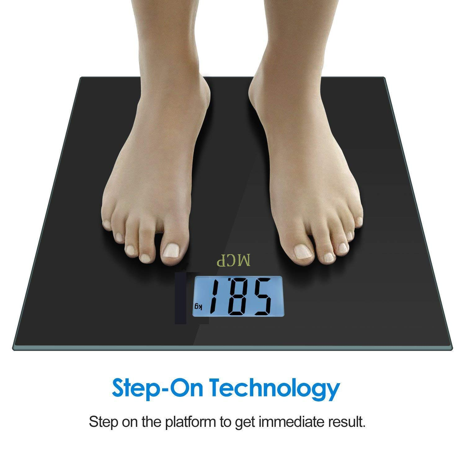 82278017ac5 MCP Sky Weighing Scale Digital Weight Machine for human body with Advanced  Step on Technology  Amazon.in  Health   Personal Care