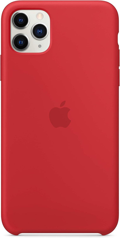 APPLE Custodia in silicone per iPhone 11 Pro Max Mandarancio