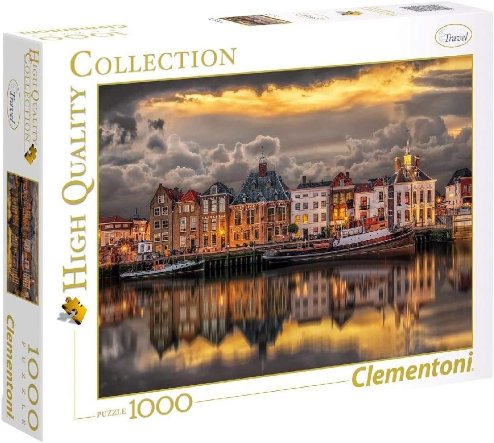 Clementoni-39421 Puzzle 1000 Piezas Dutch Dreamworld (39421.0 ...