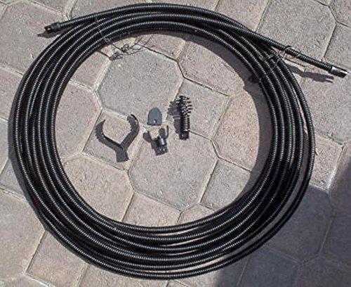 50' 1/2'' Drain Auger Cable Replacement by VKRP Enterprises