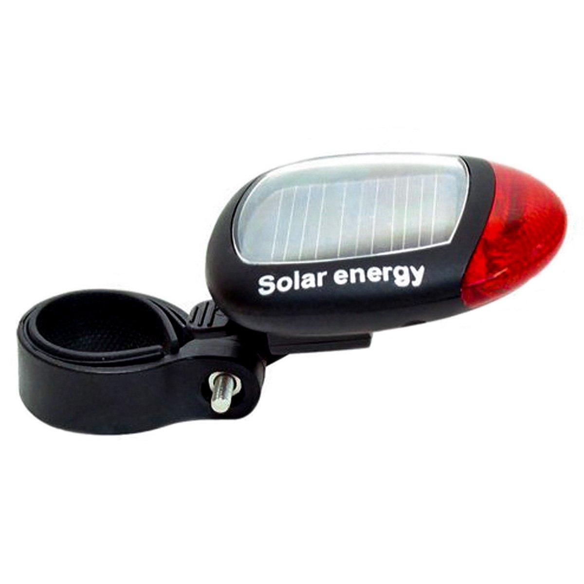 Sasairy Luces Traseras de Bicicleta Energía Solar Luces Bicicleta con 3 Modos de Iluminación Ideal para Tubo de Asiento de Bicicleta entre 30mm
