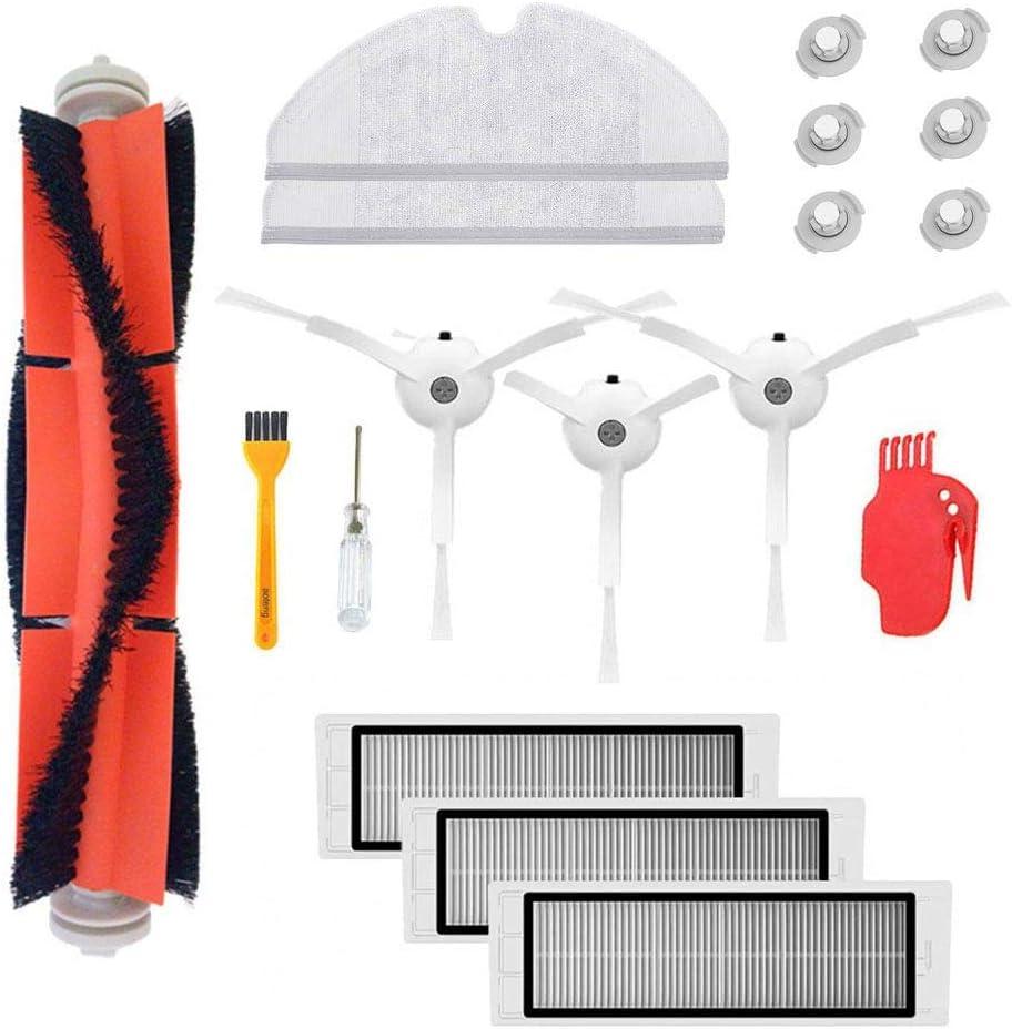 Accessory Kit for Xiaomi Mi Robot Roborock s50 s51 Xiaomi Mijia Robotic Vacuum Cleaner Replacement Parts (Set 6)