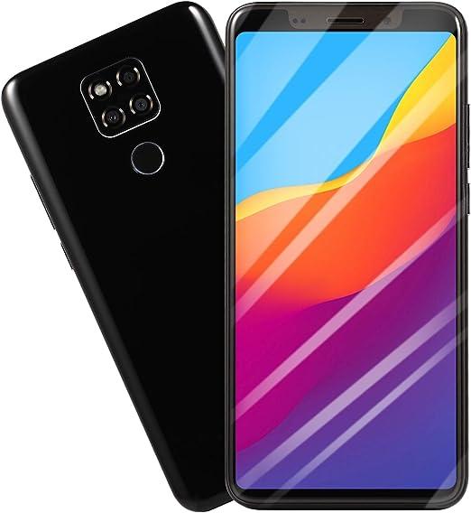 YXYNB Teléfono Inteligente, De 5,8 Pulgadas FHD + 4G Smartphone Desbloqueado con 4 GB De RAM, Doble Sim, Batería 4000Mah, Cámara De 16MP, Sensor De Huellas Dactilares,Negro: Amazon.es: Hogar