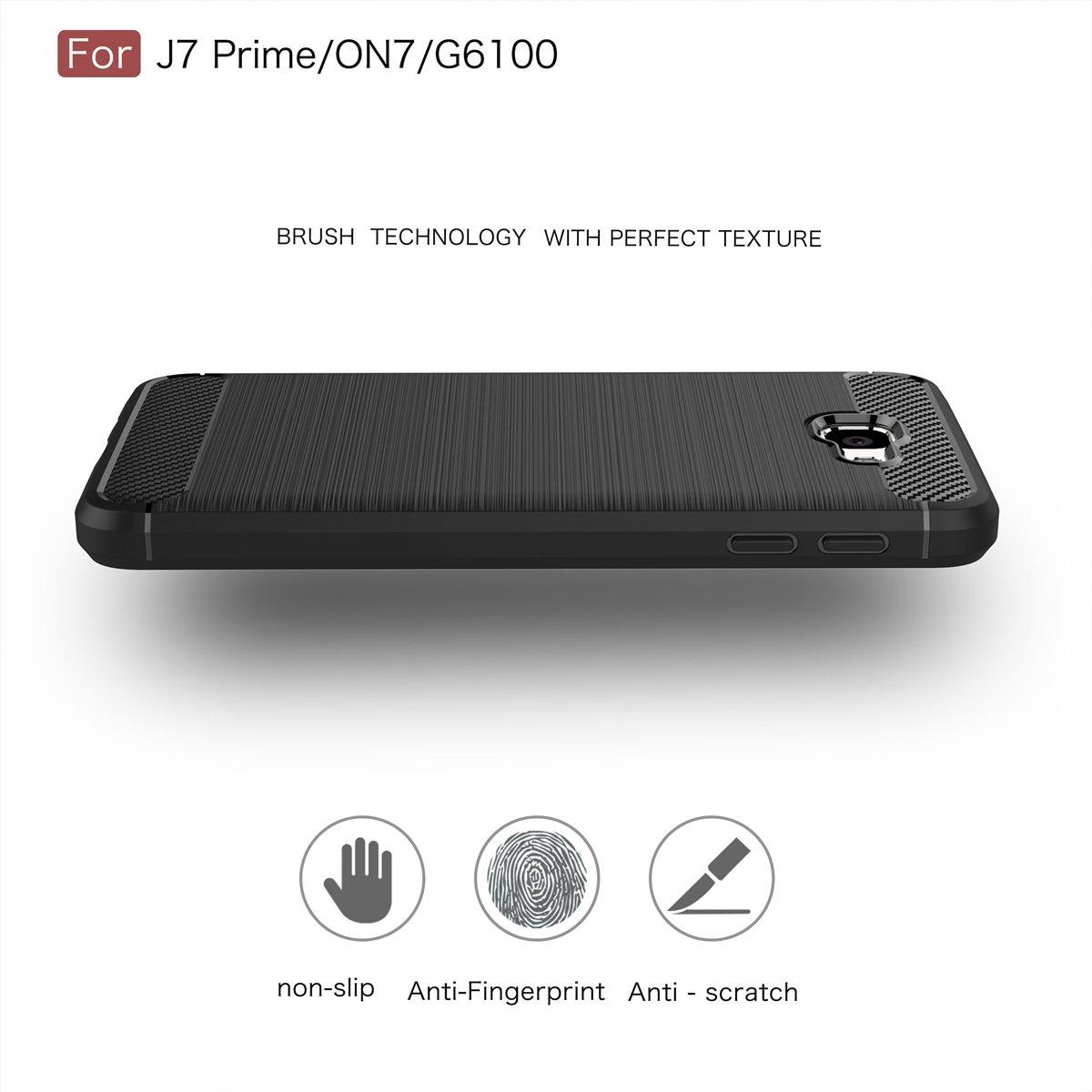 yanzi Funda Samsung Galaxy A80 Funda Carcasa Silicona Cover Caso Samsung Galaxy A80 Fundas Negro Plata 3 in 1 Smartphones Accesorios Vidrio Templado Protector Samsung A80 Carcasa